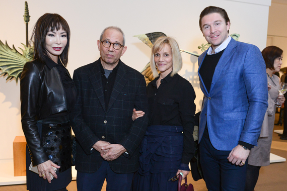 Mark Newhouse, Lori Newhouse, Philippe Hoerle-Guggenheim, and Yung Hee Kim